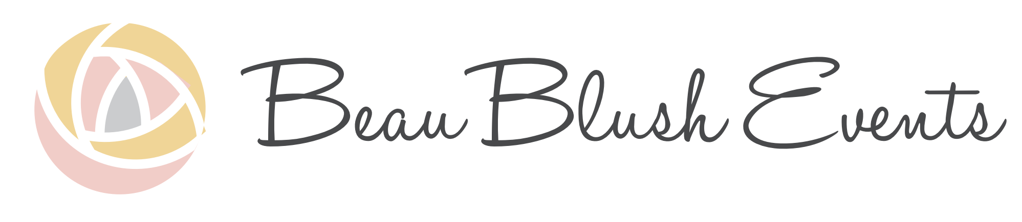 Beau Blush Events Logo