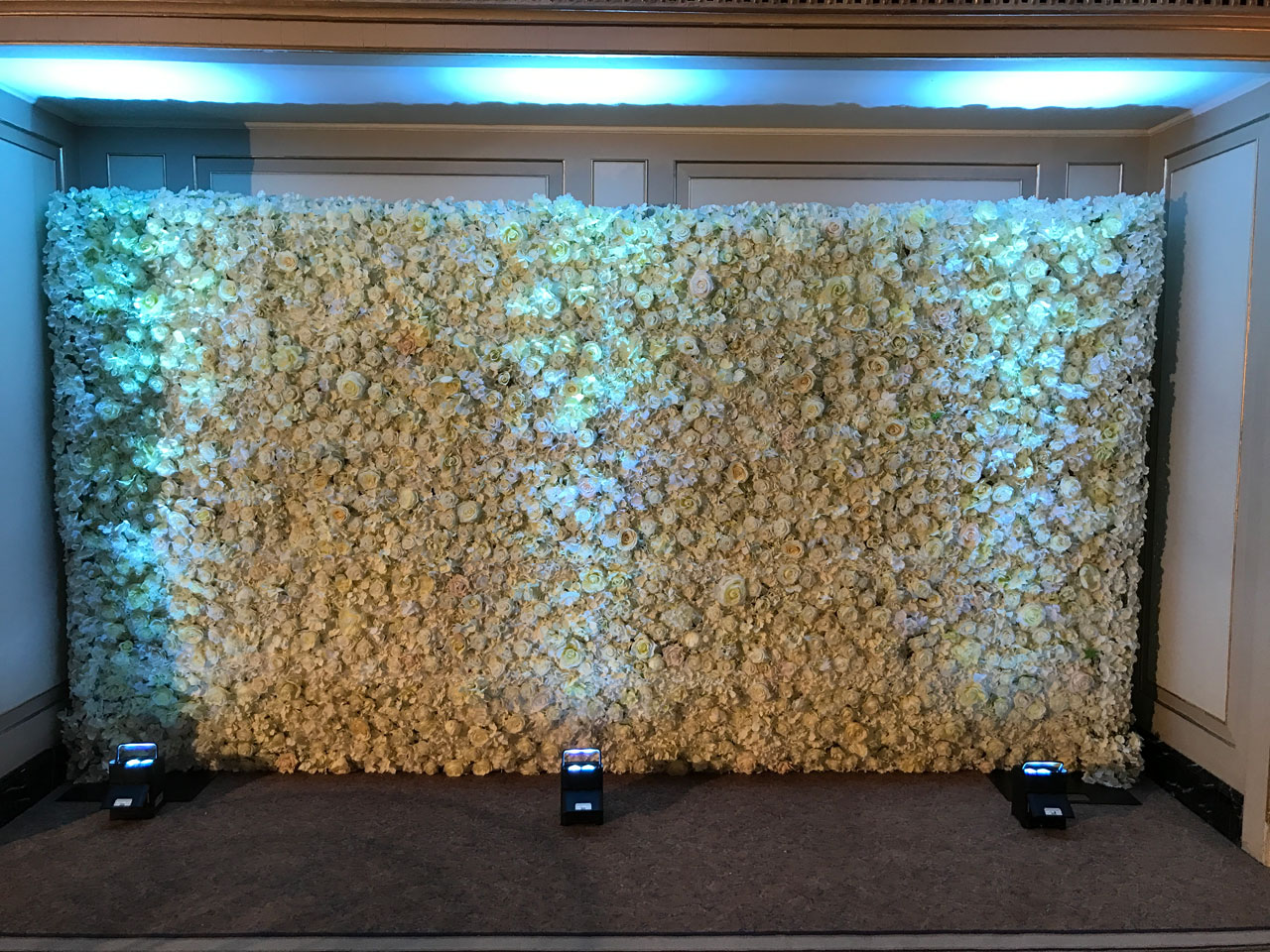 Flower wall - The Dorchester, London