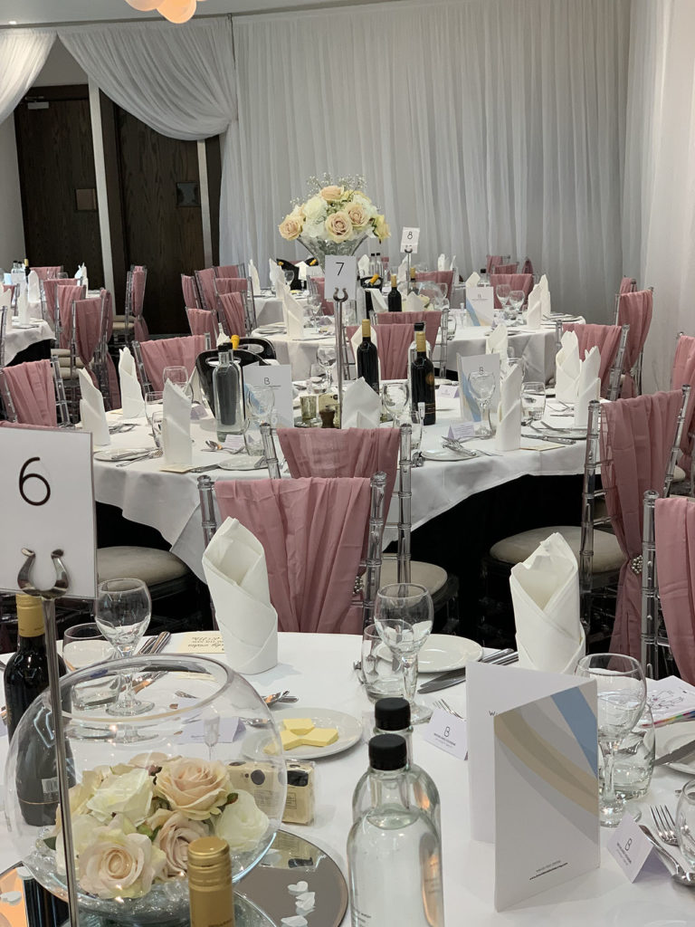 brooklands hotel wedding venue decor styling